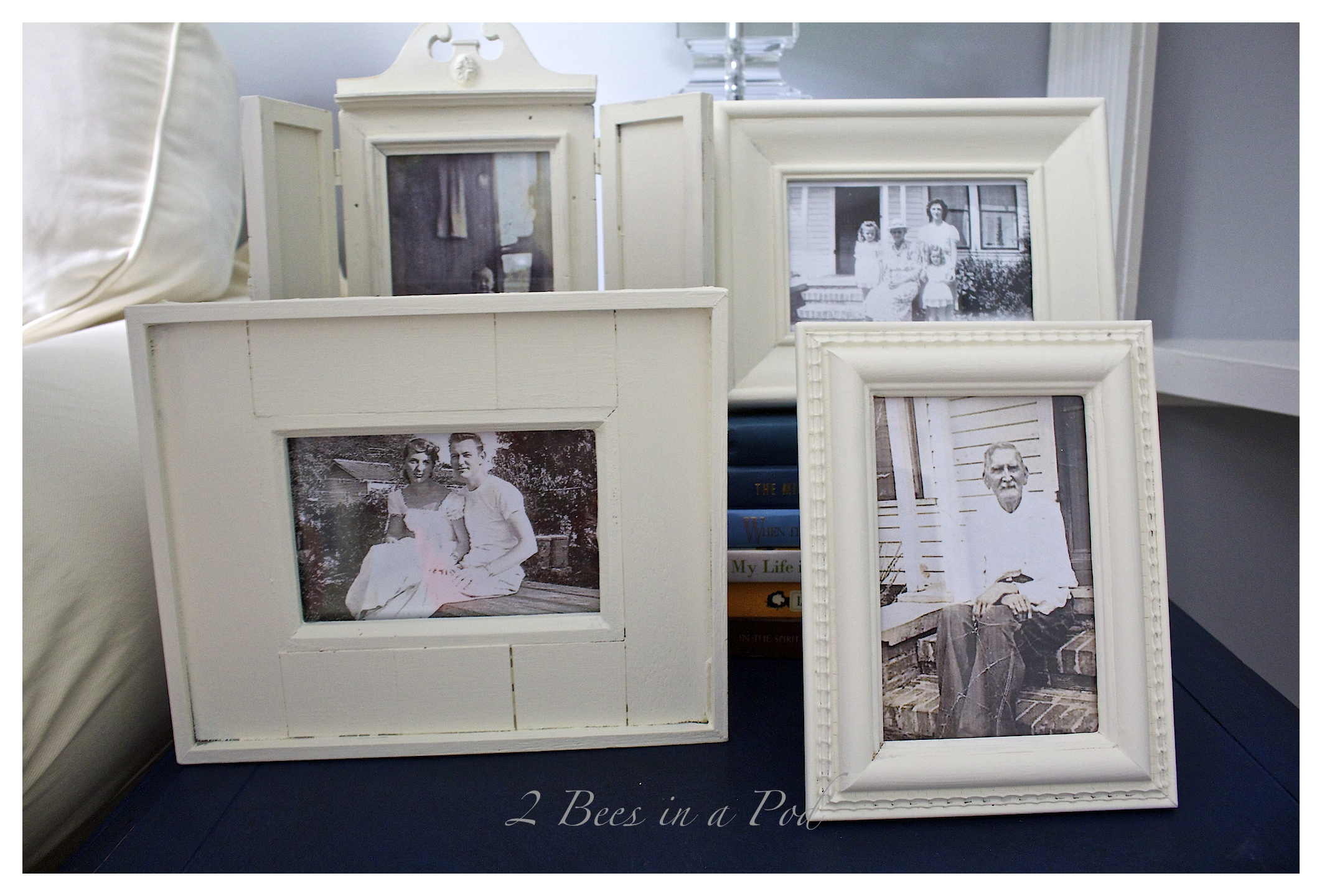 Painted Thrift Store Frames