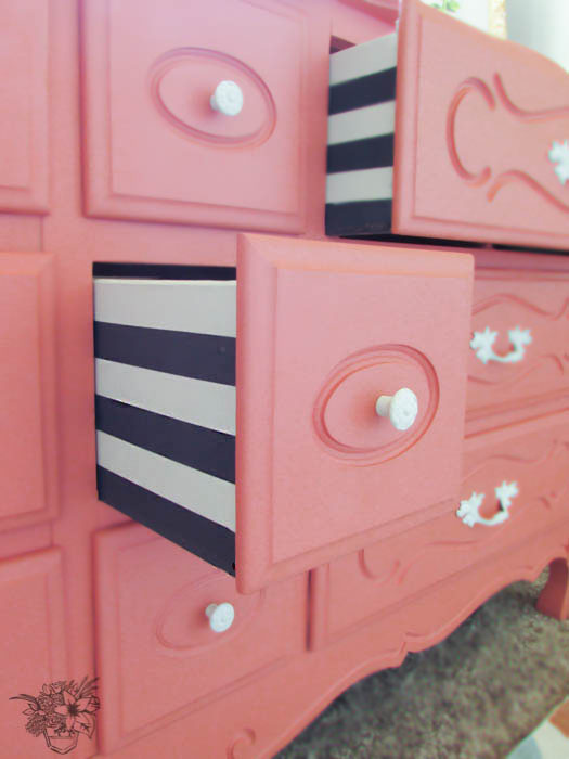 Striped+dresser+drawers