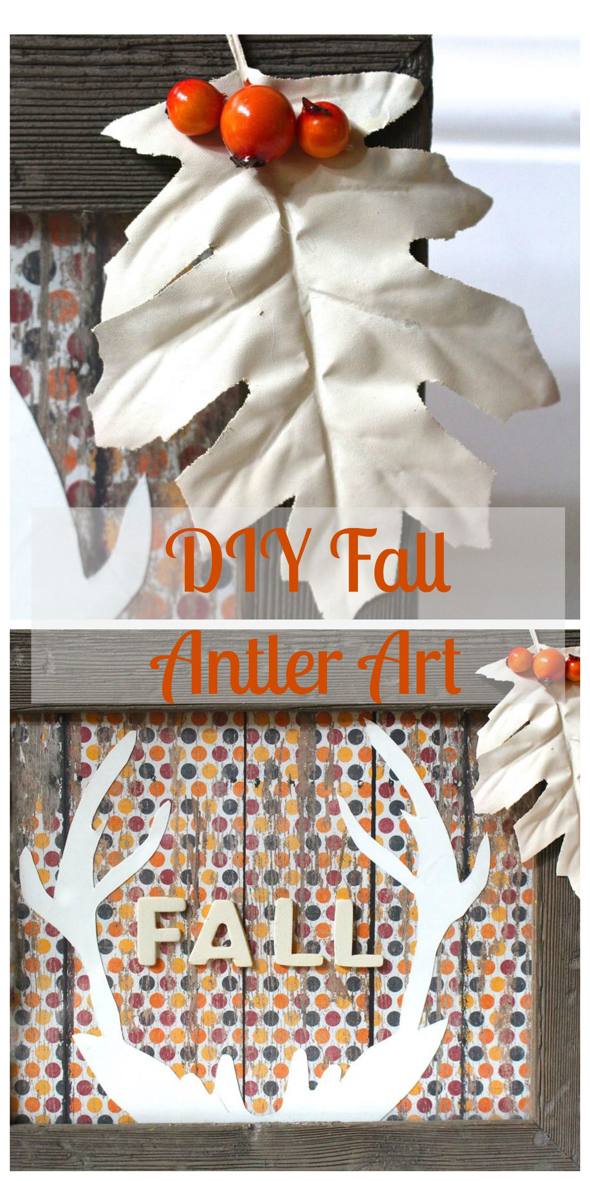 Fall Antler Art