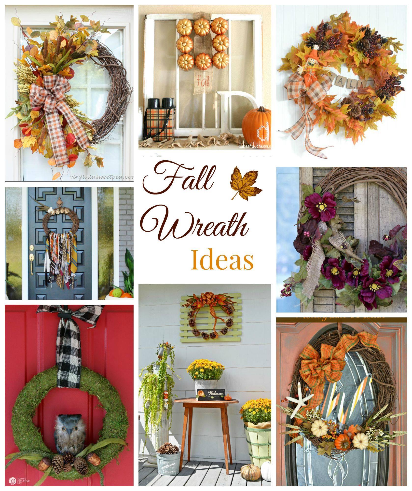 Fall Group Wreath