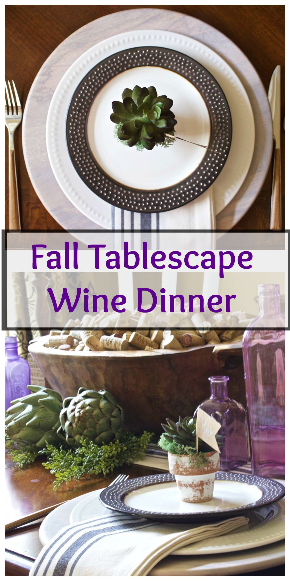 Fall Tablescape Collage