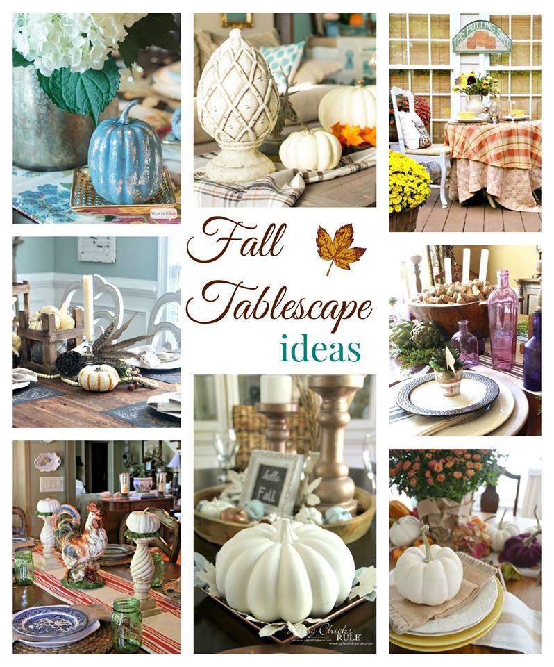 Fall Tour Table