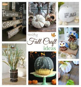 Fall group crafts