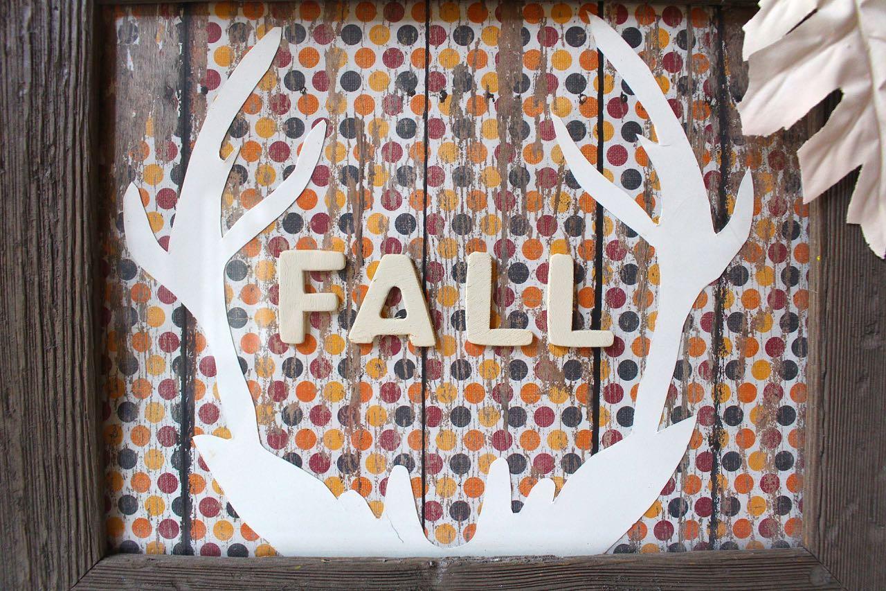 Fall Antler Art