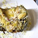 Roasted Artichoke with Parmesan Cheese