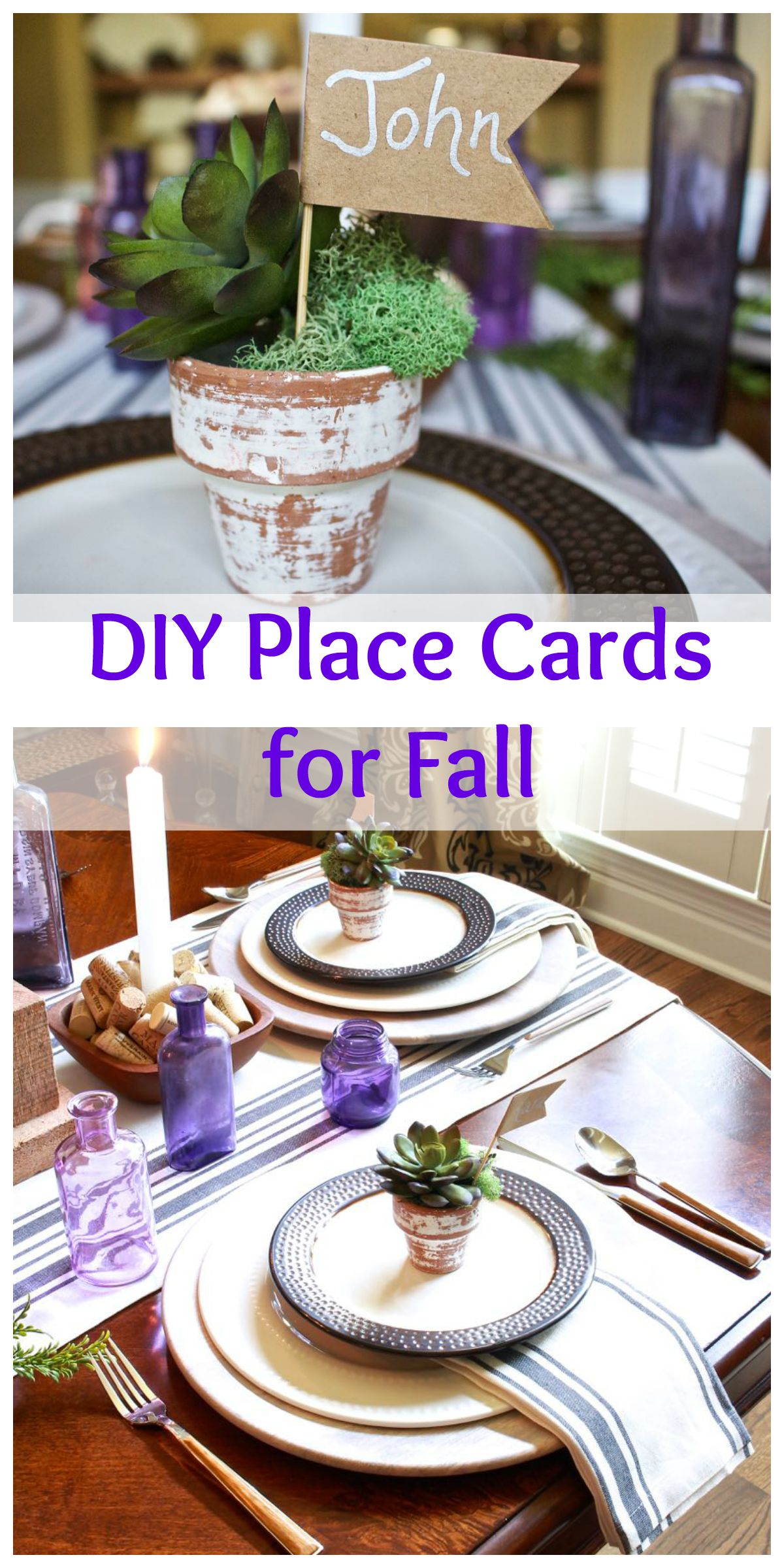 Place cards Collage