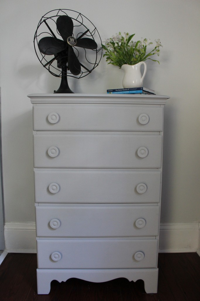 Annie Sloan Chalk Painted Dresser - Paris Grey