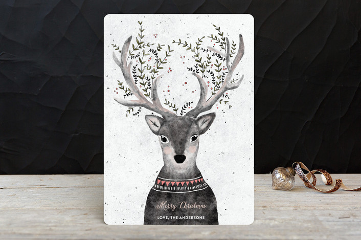 Minted Card - Deer 1