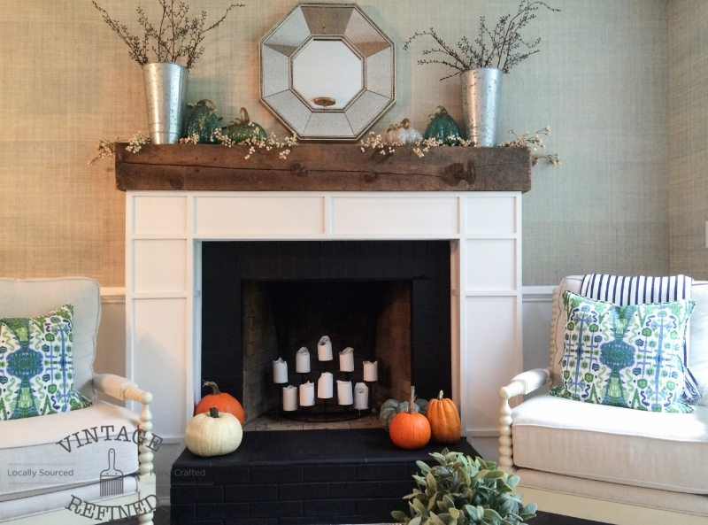 artisbeauty.net link party custom mantle vintage