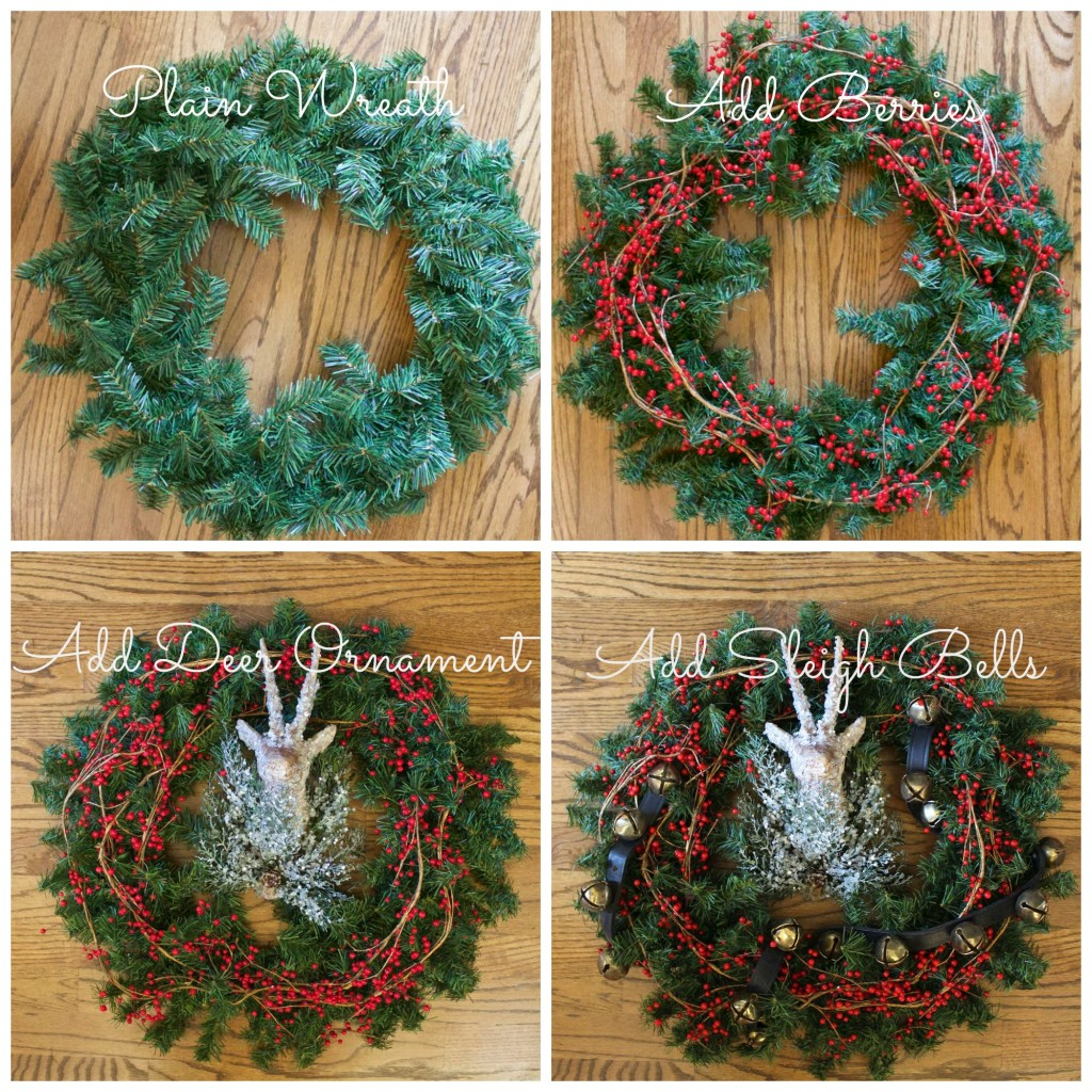 4 wreath Collage