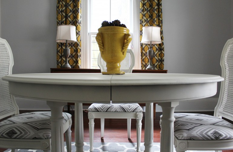 Take a Seat Dining Furniture Makeover