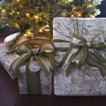 Weathered Wood Christmas Gift Wrap