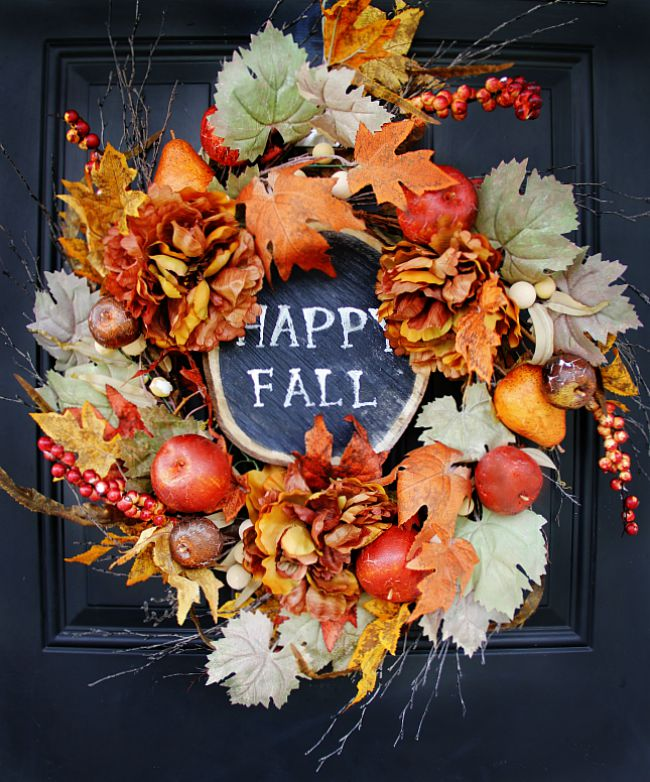 6 Easy DIY Fall Wreaths