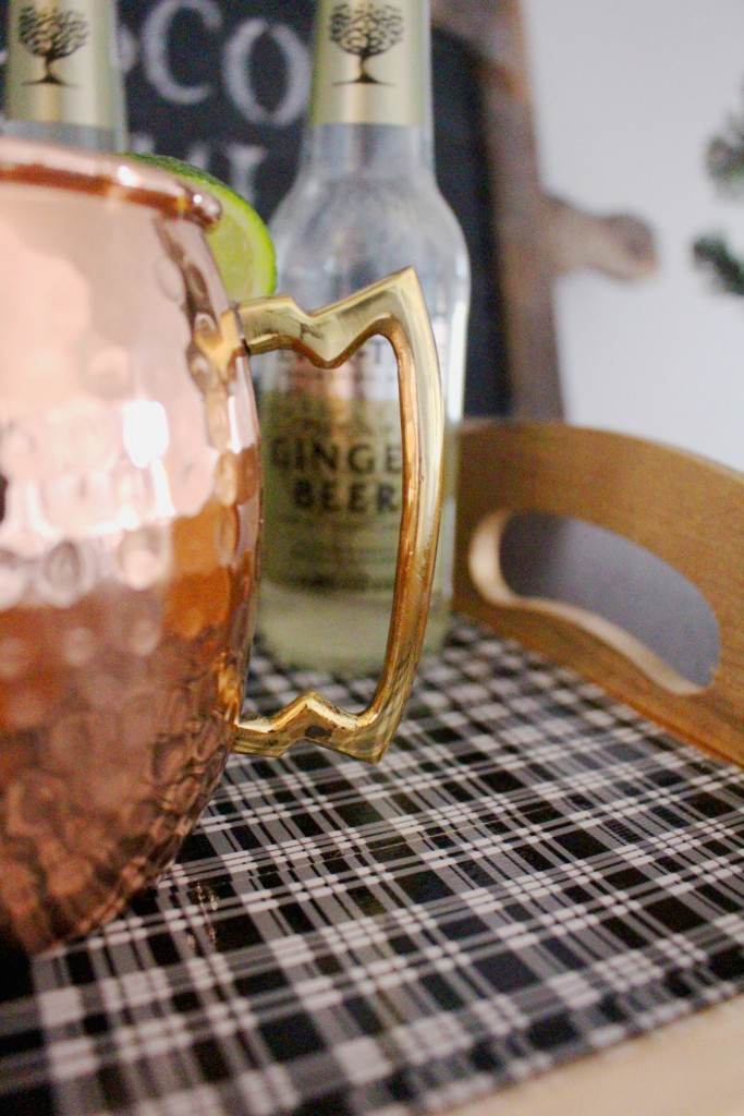 Christmas Moscow Mule Station and DIY Tray 5