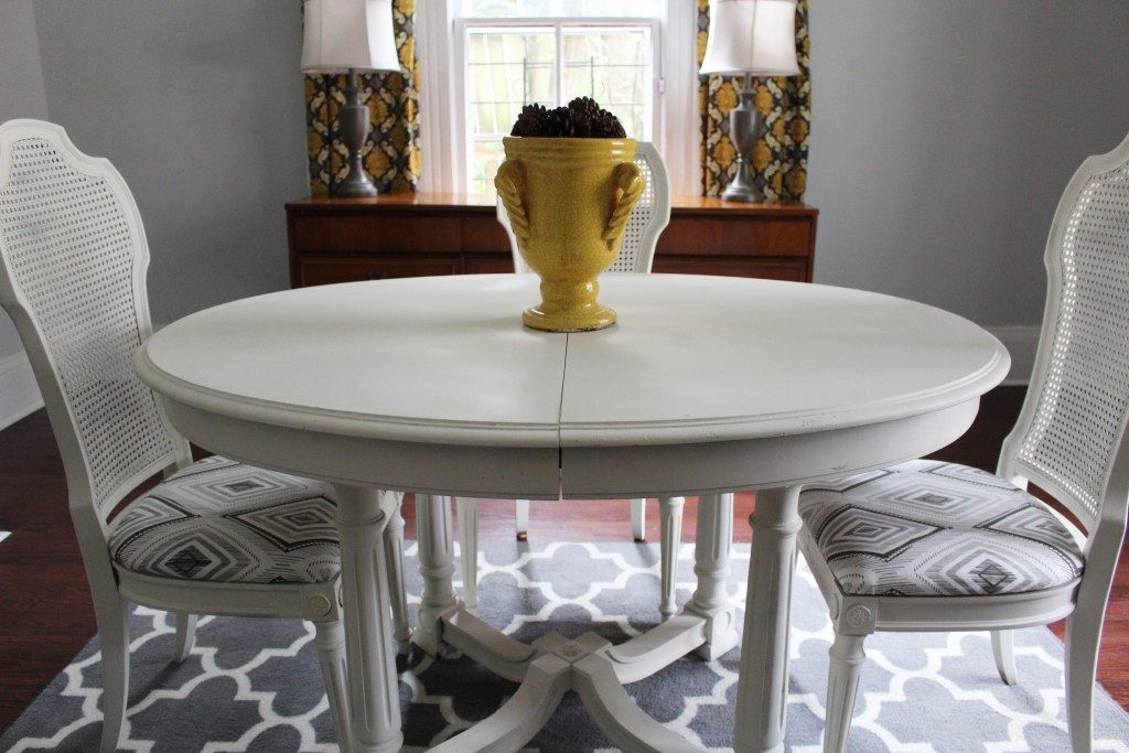 Dining Room Furniture Makeover