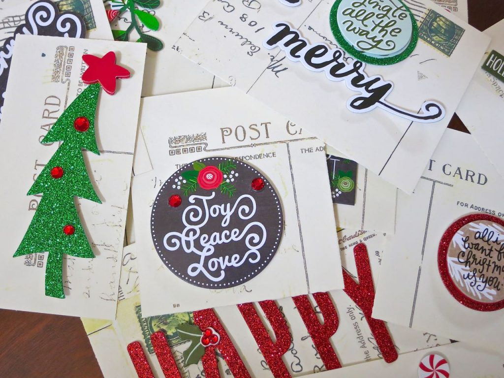 Easy to make Christmas Gift tags