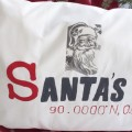 Santa's House DIY Latitude Longitude Pollow