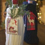 DIY Sweater Wine Bags