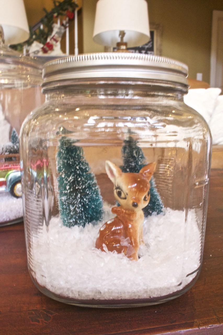 Christmas Terrariums 2 Bees in