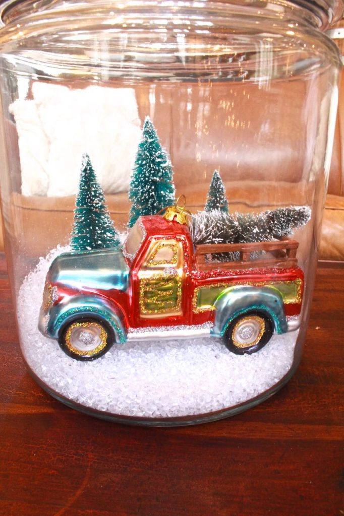 DIY Christmas Terrariums