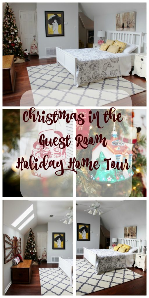 Christmas in the Guest Room - Christmas Home Tour