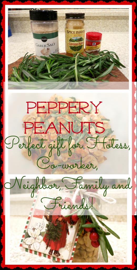 Peppery Peanuts