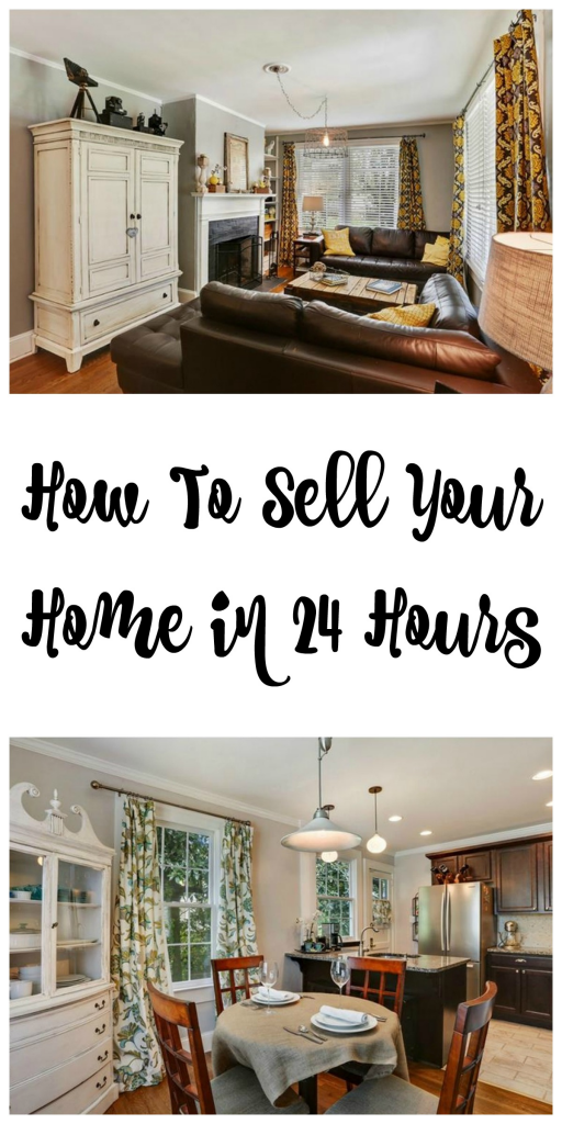 How to sell your home in 24 hours