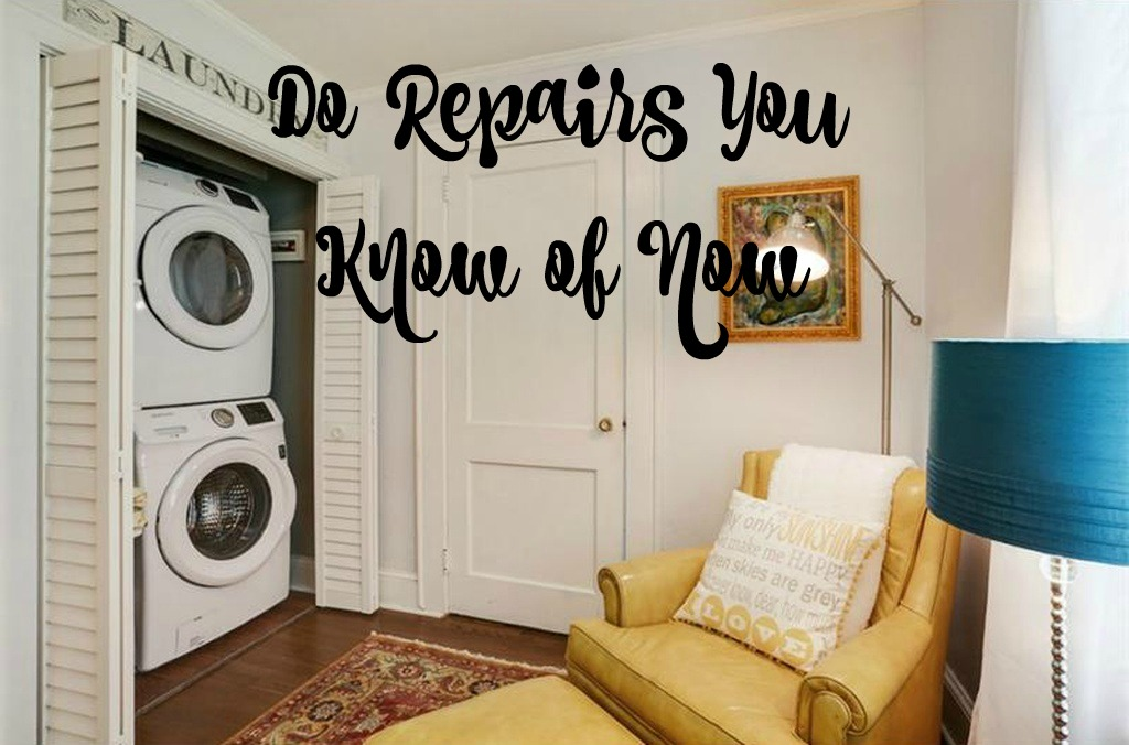 How to sell your home in 24 hours - do repairs you know of now