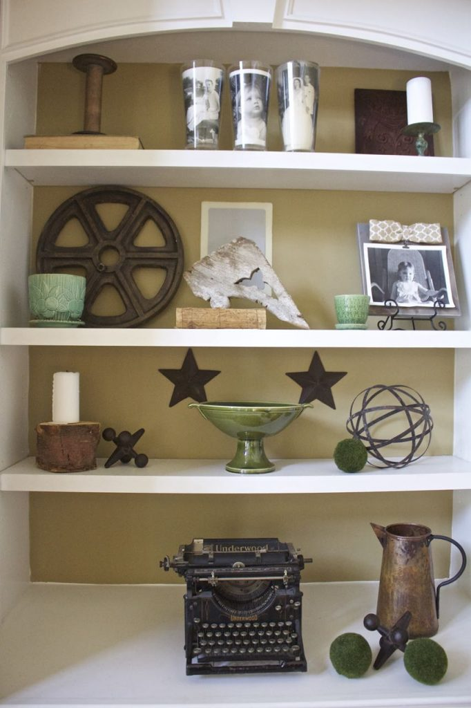 Styling a Bookcase and Tips