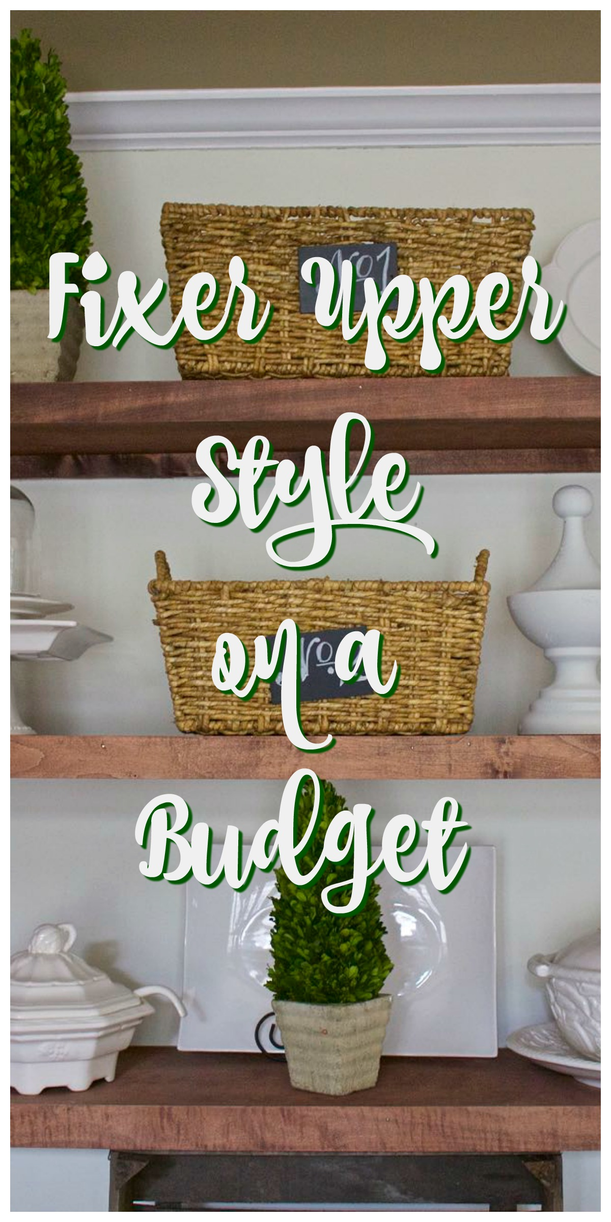 Fixer upper style on a budget 2 bees in a pod - What is farmhouse style ...