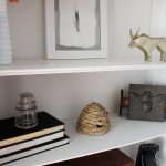 Secretary Shelves Decor