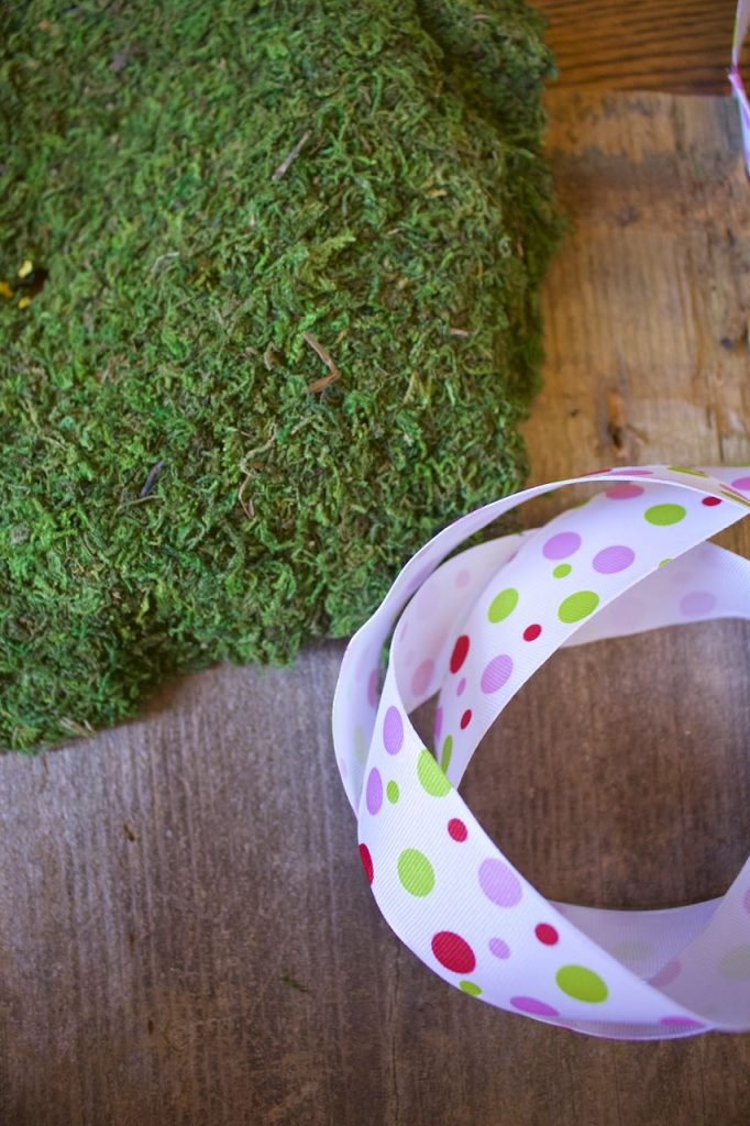 DIY Moss Bunny Art