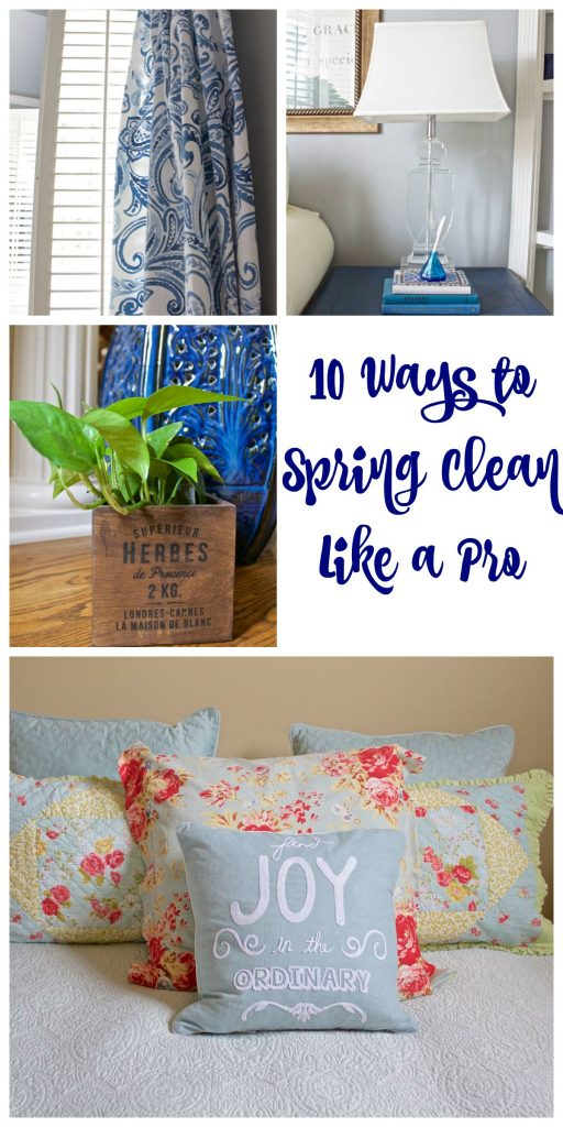 10 Ways to Spring Clean Like a Pro