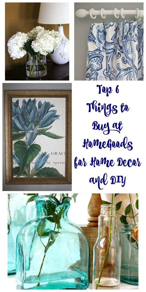 Top 6 Things to Buy at HomeGoods for Home Decor and DIY