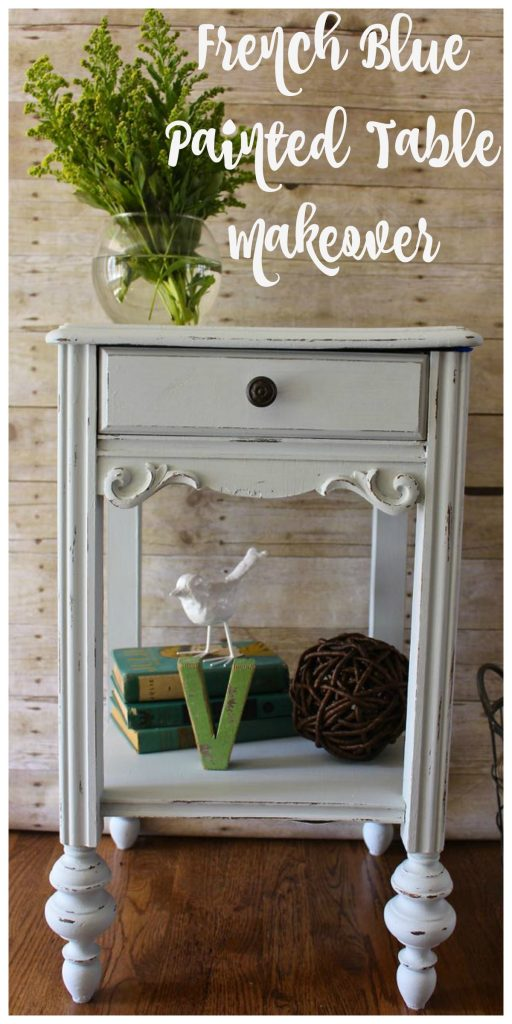 Trash to Treasure Table Makeover with Amy Howard One Step Paint