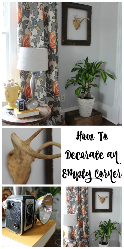 How to Decorate an Empty Corner 1