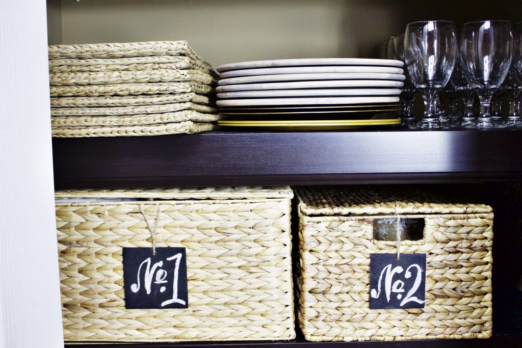 Home Decor and Prop Closet Makeover