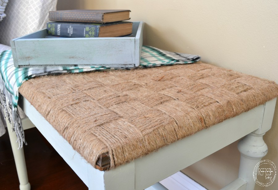 rustic-woven-bench