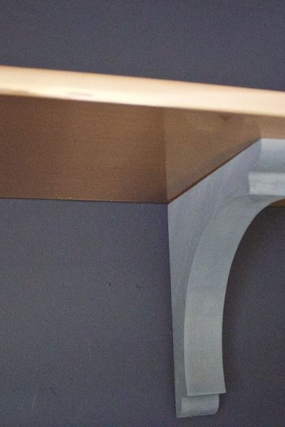 DIY Faux Copper Shelf