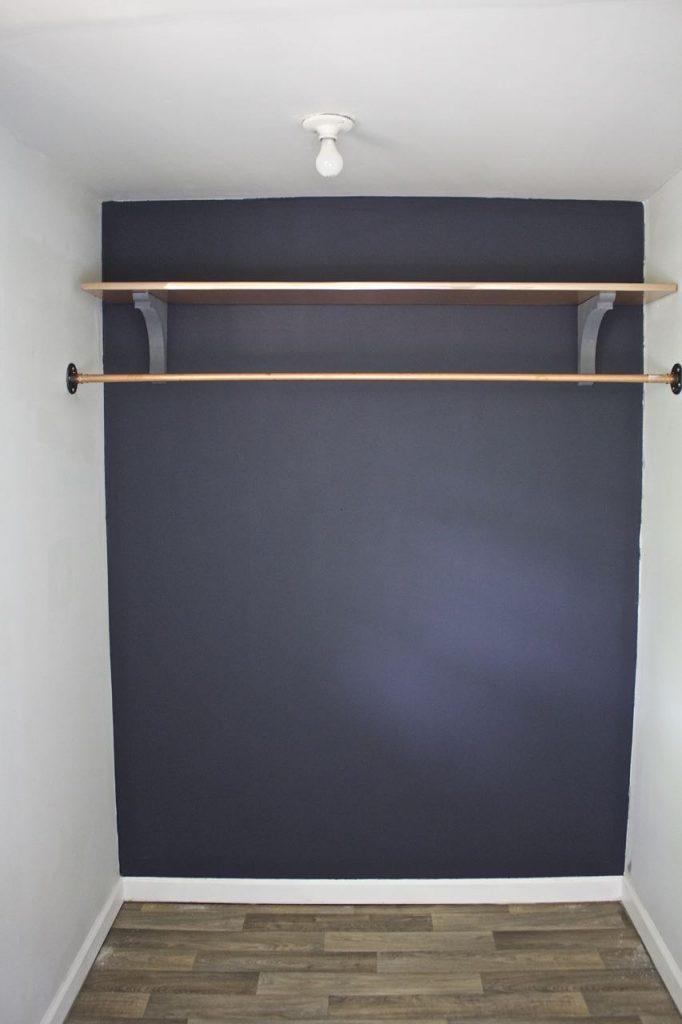 One Room Challenge - Master Bedroom Closet