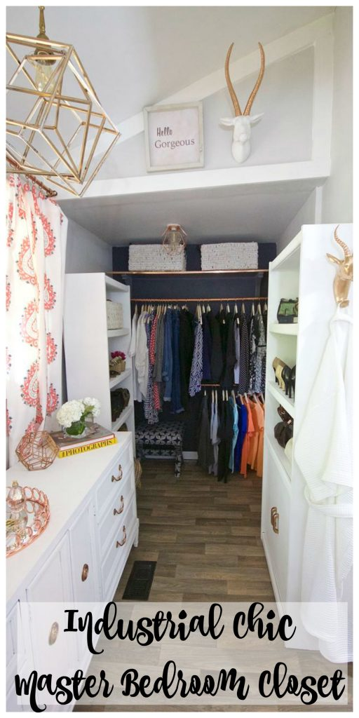 Master Bedroom Closet Reveal - One Room Challenge