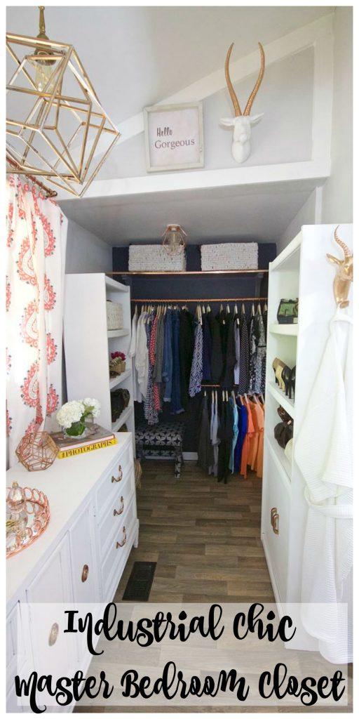 Master Bedroom Closet Reveal - One Room Challenge