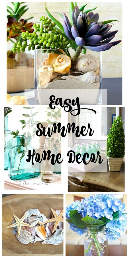 Easy Summer Home Decor