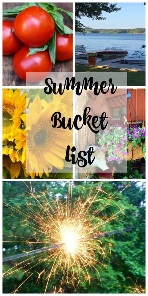 Summer Bucket List