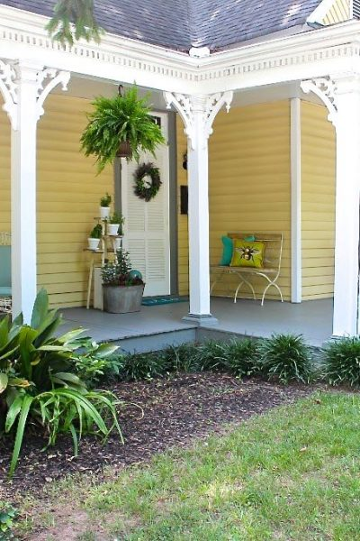 Summer Front Porch Garden Tour