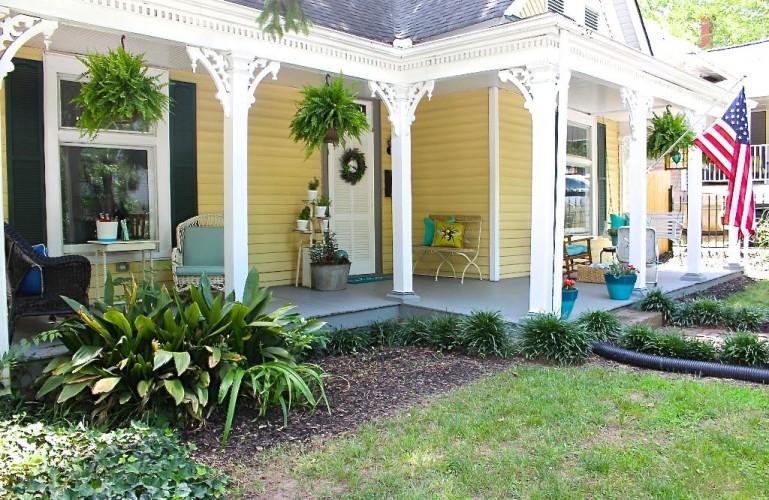 Summer Porch and Garden Tour