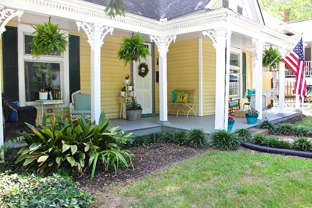 Summer Porch and Garden Tour