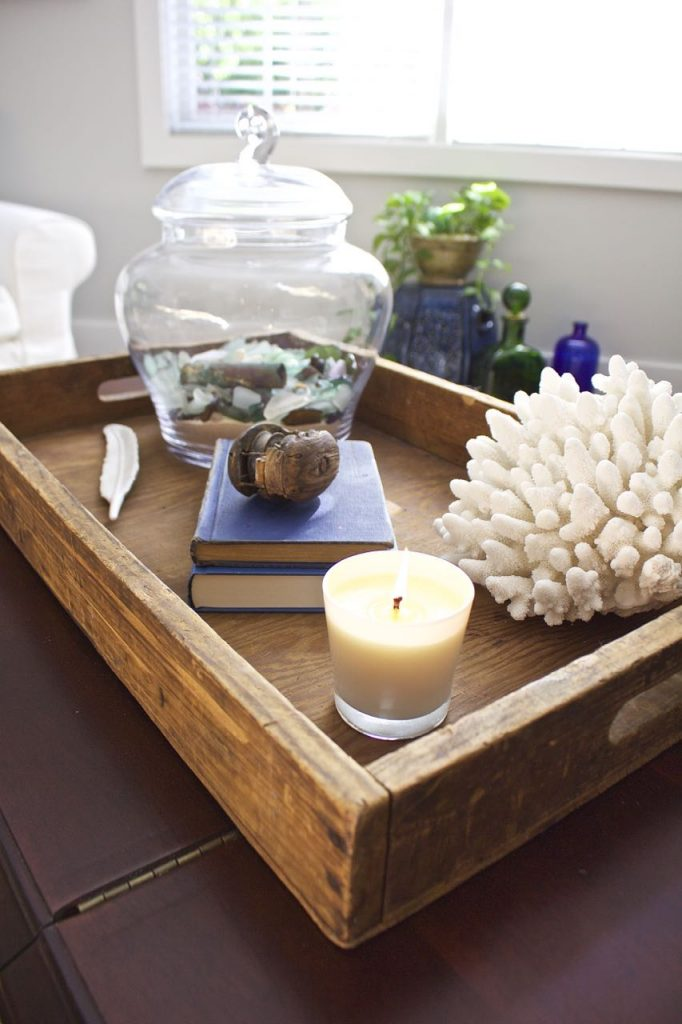 Coastal Inspired Coffee Table