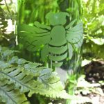 DIY Etched Plant Water Bottle