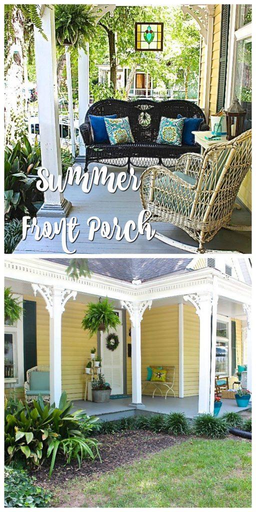 Summer Porch Garden Tour
